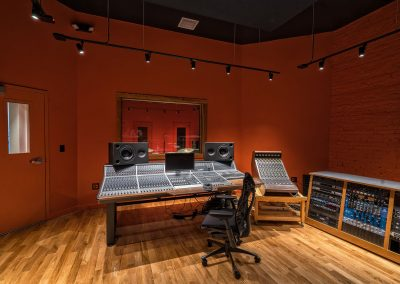 Audient ASP8024 Console and Sound Techniques Sidecar